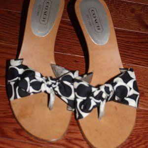 vintage Coach heels